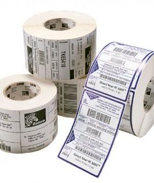 Etiqueta Térmica ZEBRA, Color blanco, 2340