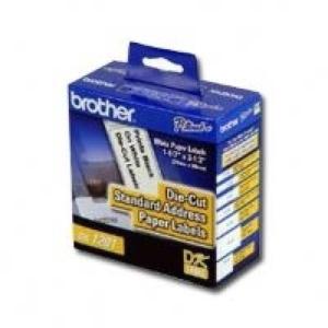 Etiquetas BROTHER DK1201, Color blanco, 400