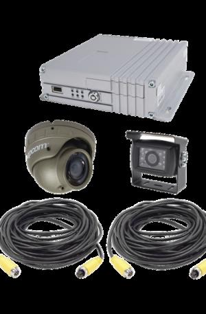 Sistema de videovigilancia móvil AHD todo en uno