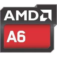 Procesador AMD A6 3,5 GHz, 2 núcleos,1 MB