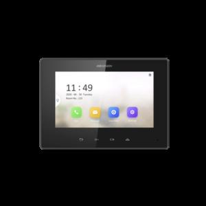 Monitor IP Lite (No touch) para Videoportero IP / Apertura Remota y Video en Vivo / PoE Estándar / Principal o Esclavo